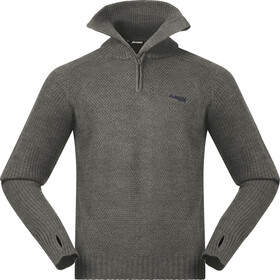 Bergans Ulriken Sweat-shirt Homme, green mud melange